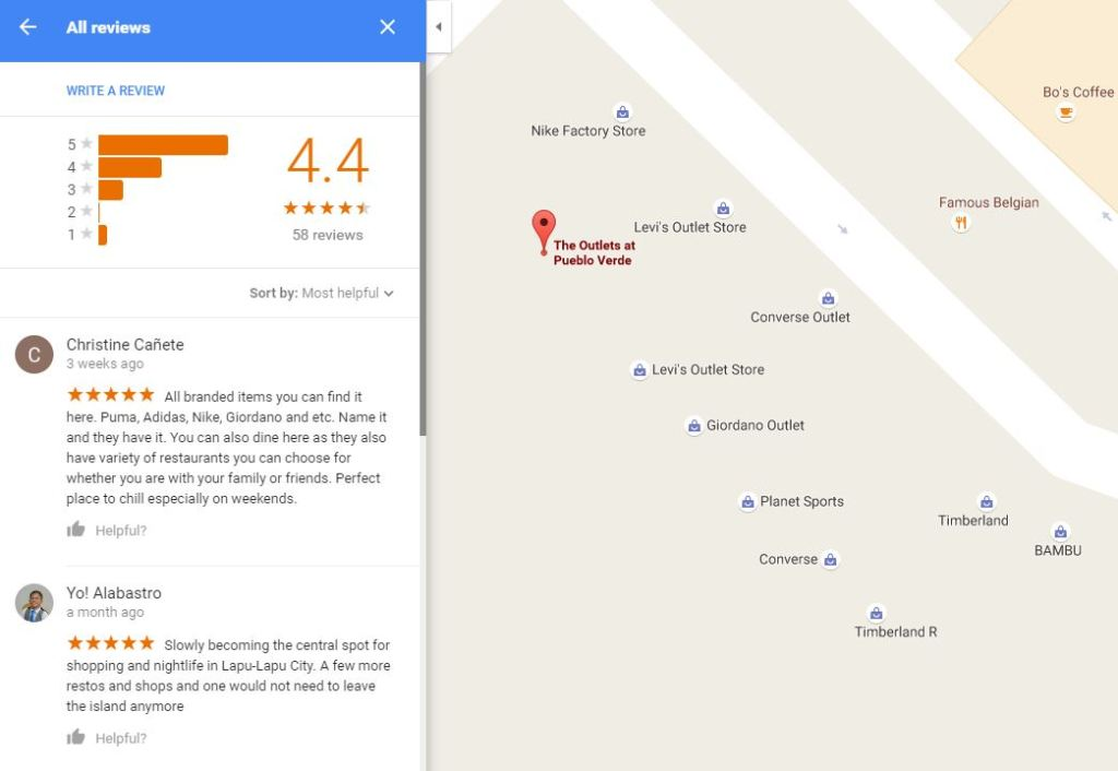 The Outlets At Pueblo Verde Google Reviews on Google Maps