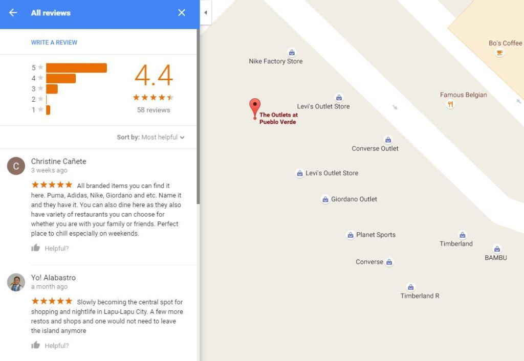 The Outlets At Pueblo Verde Google Reviews on Google Maps