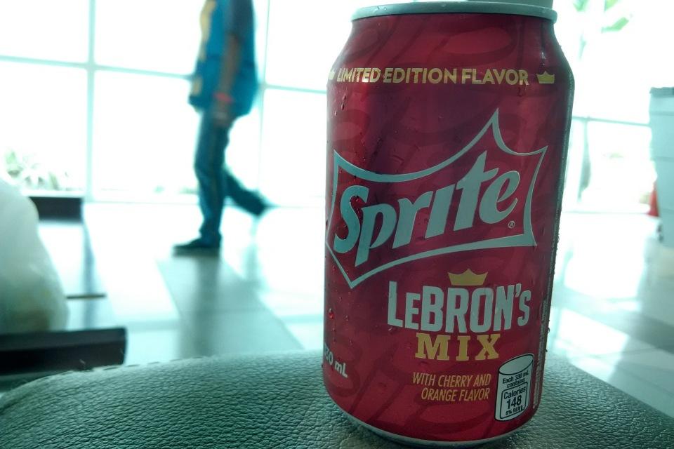 Sprite LeBron Mix