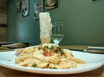 The Great Pasta Hunt: Q Cafe