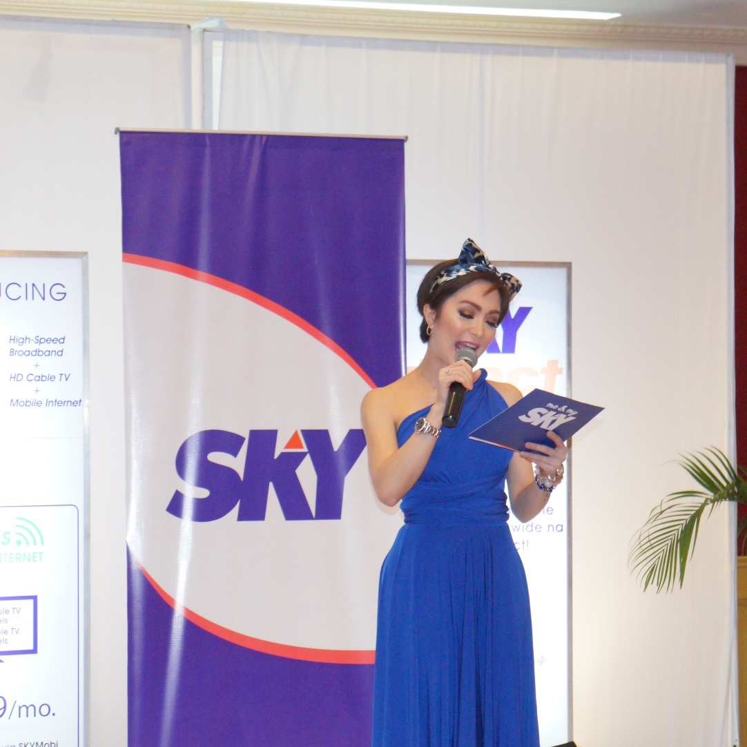 KitKat graces Sky's #OneSky and #SkyDirect launch in Cebu