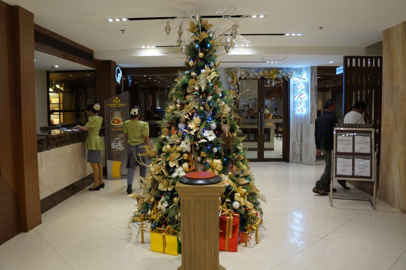 Golden Christmas at Golden Prince Hotel & Suites