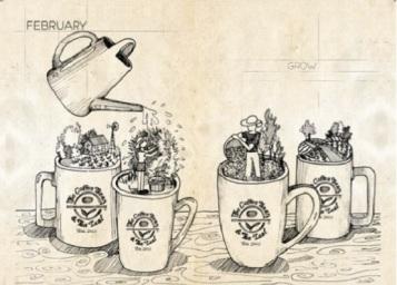 2017 Giving Journal The Coffee Bean & Tea Leaf
