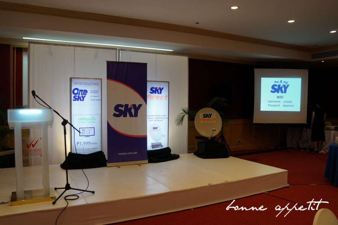 SKY unleashes its newest products One SKY and SKYdirect in Cebu